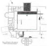imagen plano villa romana